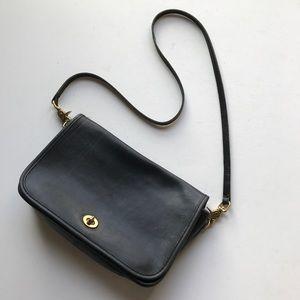 Coach Vintage Crossbody Shoulder Strap Clutch Bag